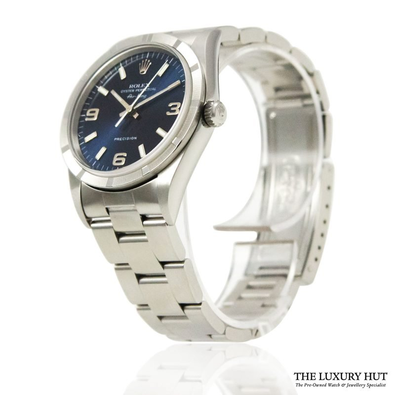 Rolex Air King Precision Blue Arabic Dial Ref 14010 Order online today for next day