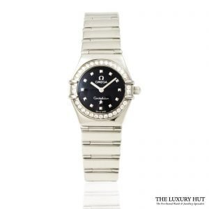 Omega Ladies Diamond Set Constellation Watch Order online today for next day delivery.