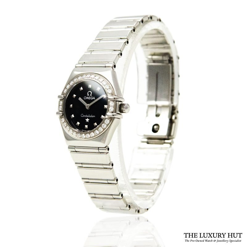 Omega Ladies Diamond Set Constellation Watch Order online today for next day