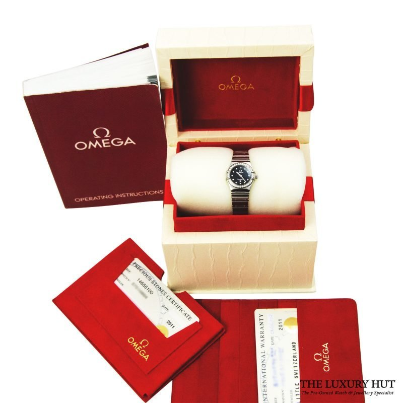 Omega Ladies Diamond Set Constellation Watch Order online today delivery.