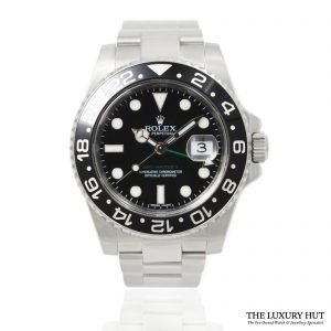 Rolex GMT-MASTER II Watch Ref: 116710LN - 2010 - Order Online today for next day delivery.