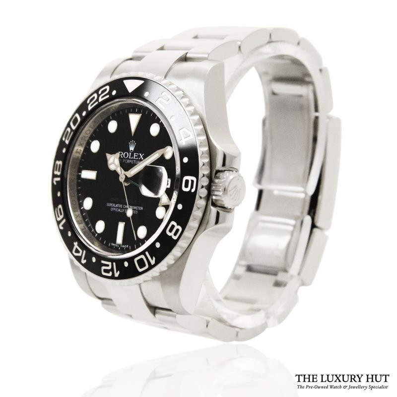 Rolex GMT-MASTER II Watch Ref: 116710LN - 2010 - Order Online today for next day