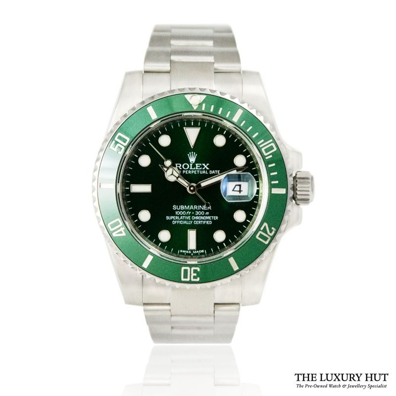 Rolex 2014 Submariner Hulk Oyster Date Ref 116610LV Watch - Order online today for next day delivery.