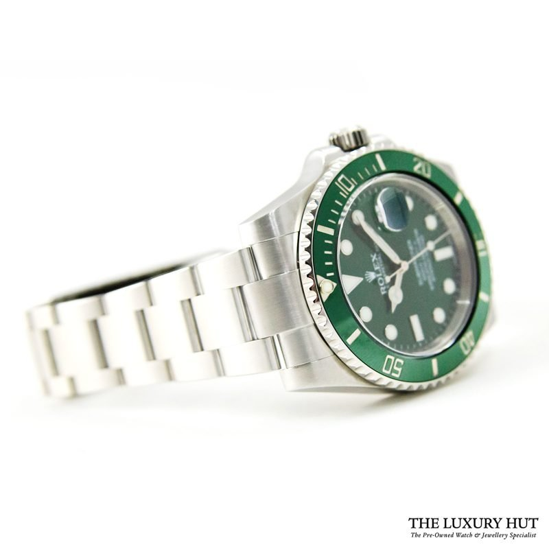 Rolex 2014 Submariner Hulk Oyster Date Ref 116610LV Watch