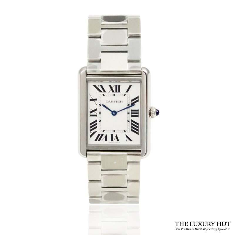 Cartier Tank Solo Large Watch Ref: W5200014 – 2018 Order Online today for next day delivery