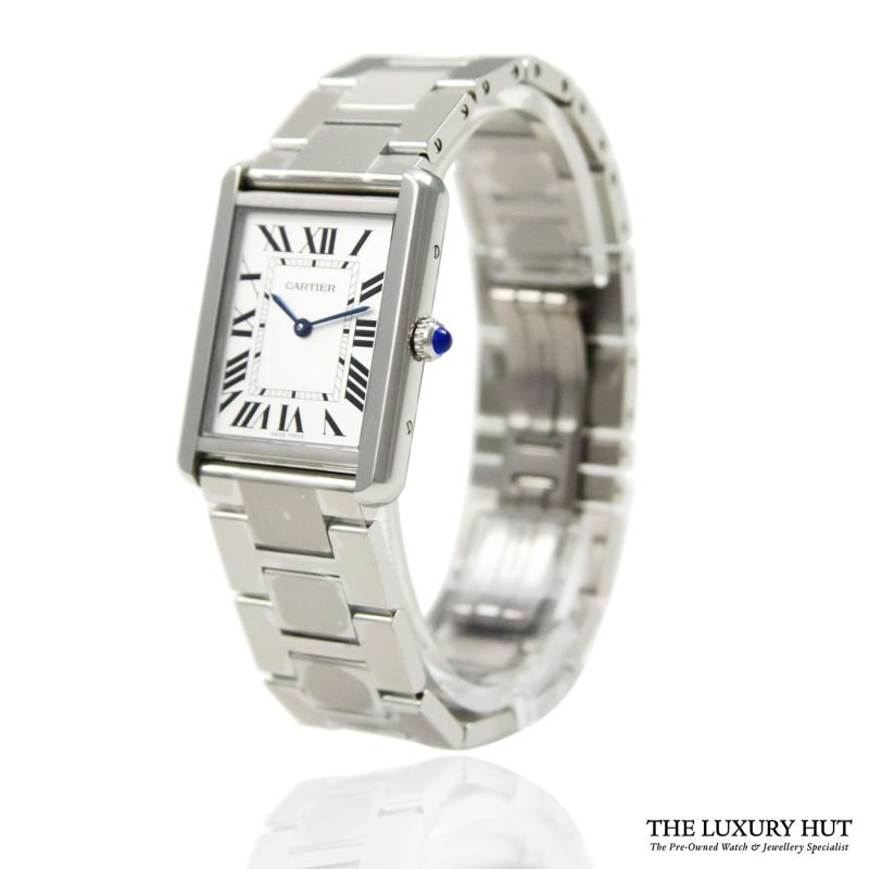 Cartier Tank Solo Large Watch Ref: W5200014 – 2018 Order Online today for next day