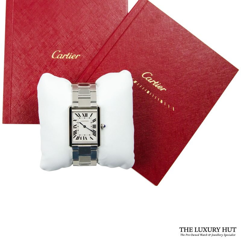 Cartier Tank Solo Large Watch Ref: W5200014 – 2018 Order delivery