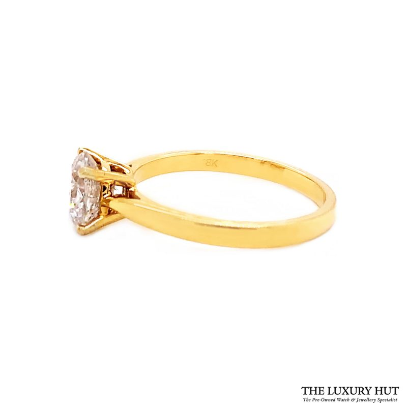 Shop 18ct Yellow Gold 1.40ct Certified Diamond Solitaire Ring - Order Online Today