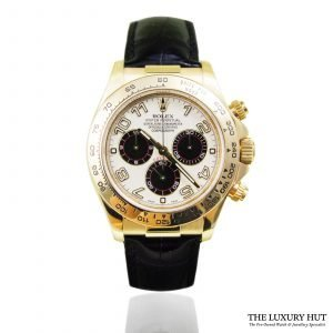 Rolex Daytona Cream Panda Dial Watch 116518