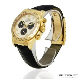 Rolex Daytona Cream Panda Dial Watch Ref: 116518 - 2009 - Order Online Today For Next Day