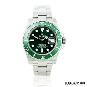Shop Rolex Submariner Hulk Watch Ref: 116610LV - Order Online Today For Next Day Delivery