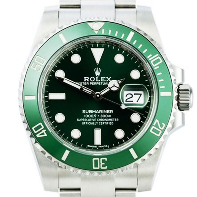 Shop Rolex Submariner Hulk Watch Ref: 116610LV - Order Online Today For Next Day
