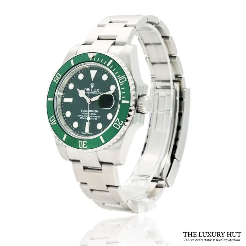 Shop Rolex Submariner Hulk Watch Ref: 116610LV - Order Online Today
