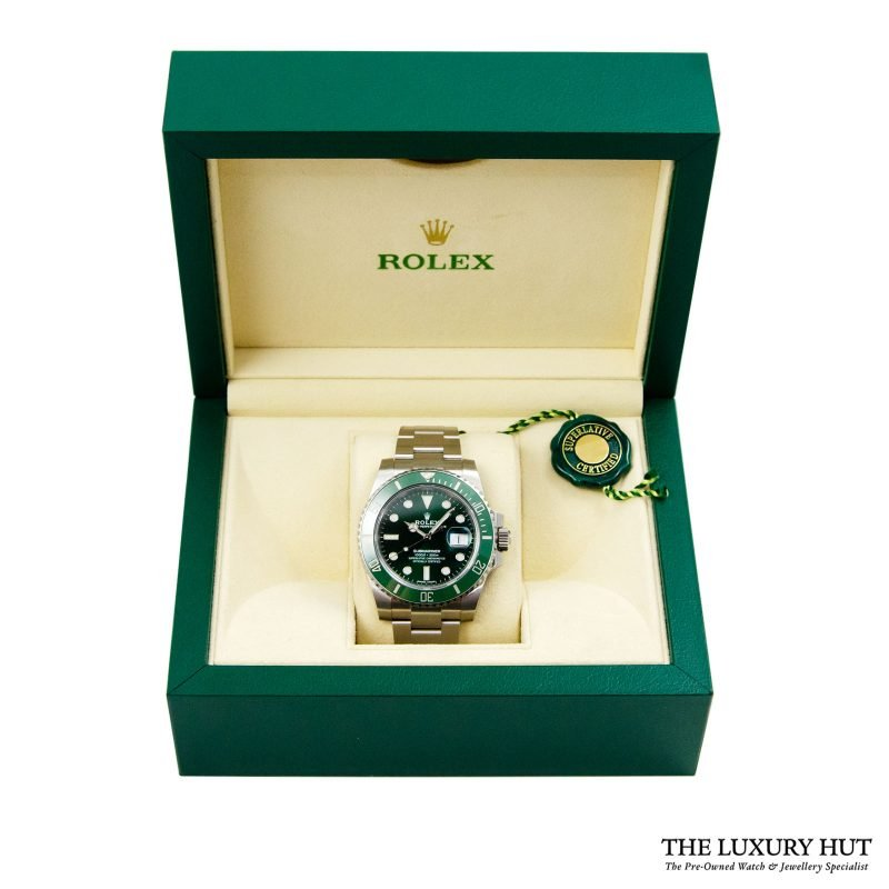 Shop Rolex Submariner Hulk Watch Ref: 116610LV - Order Online Today Delivery