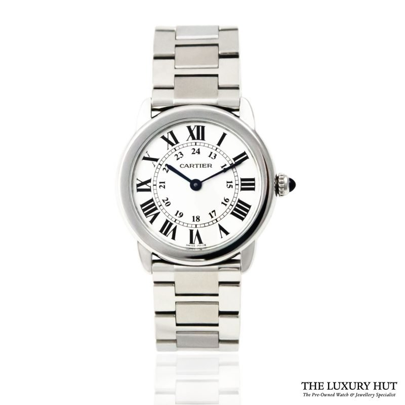 Cartier Ronde Solo Ladies Watch Ref: 3601 - 2018 - Order Online today for next day delivery