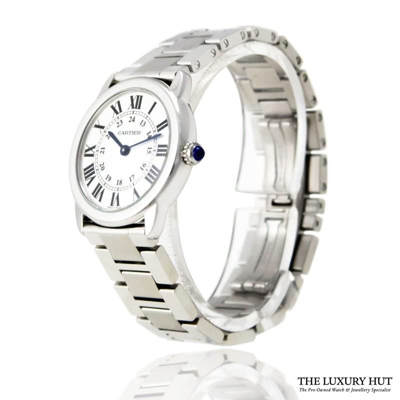 Cartier Ronde Solo Ladies Watch Ref: 3601 - 2018 - Order Online today for next day