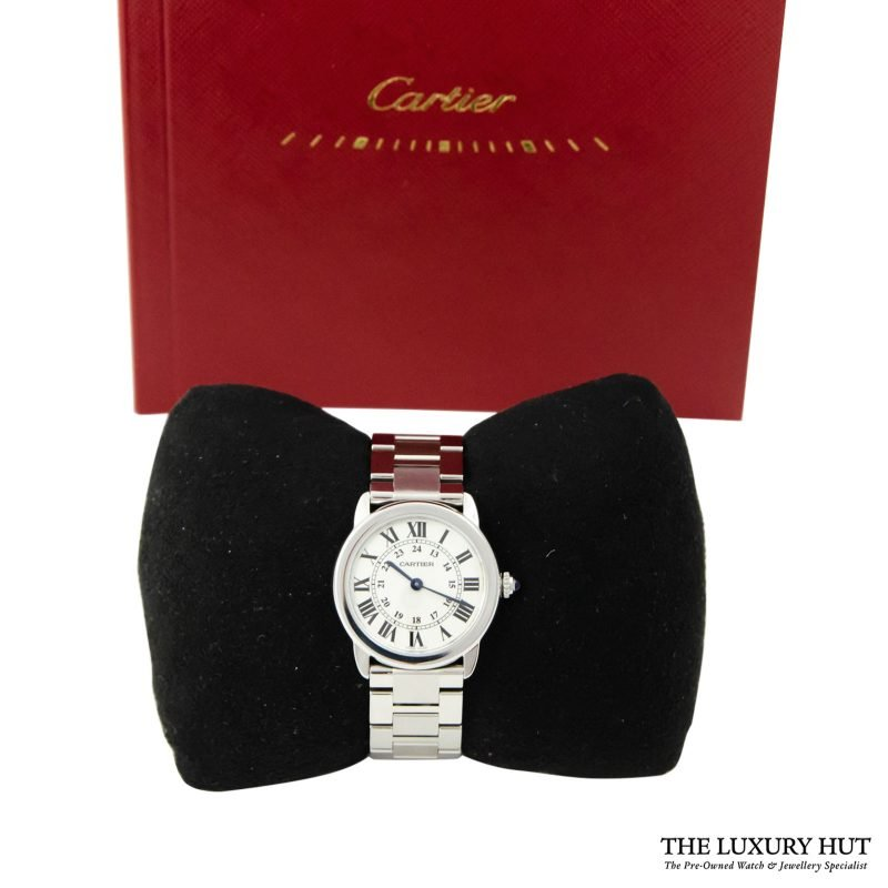 Cartier Ronde Solo Ladies Watch Ref: 3601 - 2018 - Order
