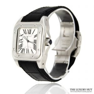 Shop Cartier Santos 100 Automatic Watch Ref: 2878 - 2014 - Order Online Today For Next Day