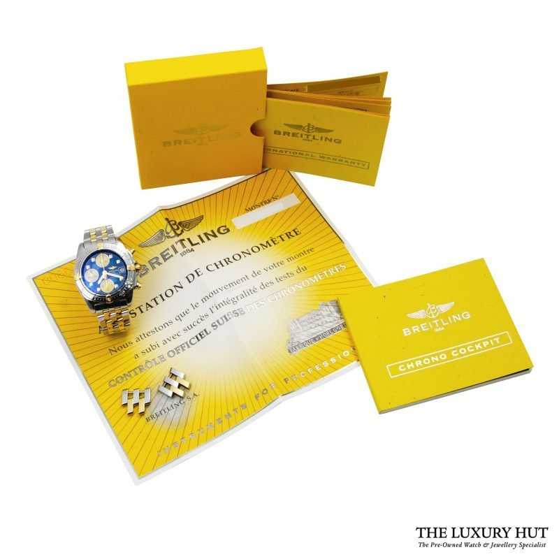 Shop Breitling Cockpit Chronograph Watch Ref: B13358 - Order Delivery.