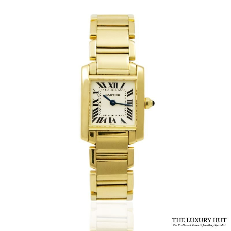 Shop Cartier Tank Francaise Ladies Watch Ref: 1820 - Order Online Today For Next Day Delivery.