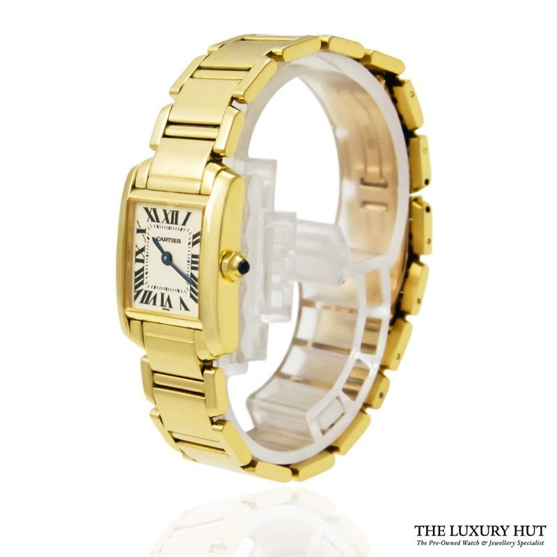 Shop Cartier Tank Francaise Ladies Watch Ref: 1820 - Order Online Today For Next Day