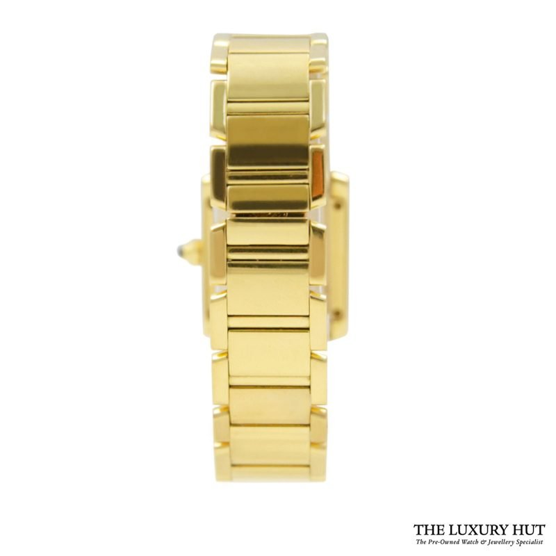 Shop Cartier Tank Francaise Ladies Watch Ref: 1820 - Order Online Today