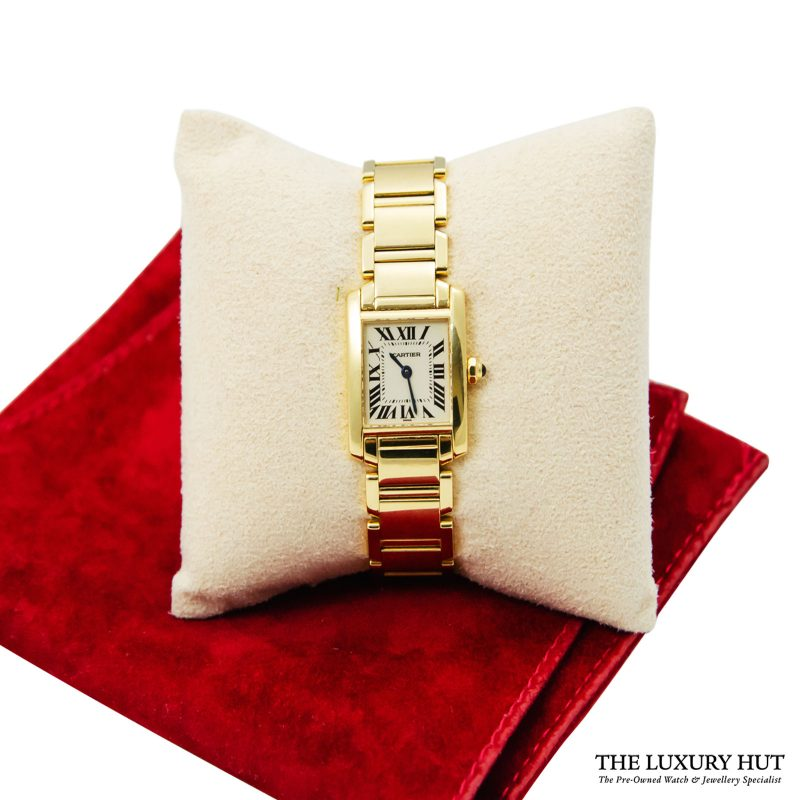 Shop Cartier Tank Francaise Ladies Watch Ref: 1820 - Order Online Delivery.