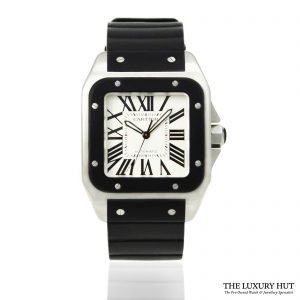 Shop Cartier Santos 100 XL Automatic Watch Ref: 2656 - Order Online Today For Next Day Delivery.