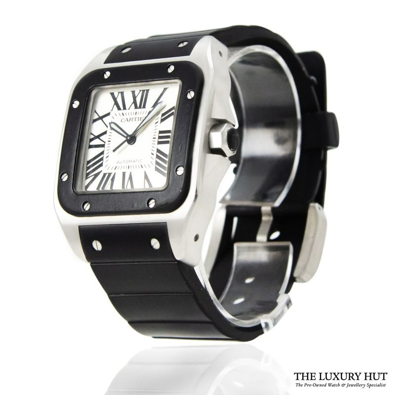 Shop Cartier Santos 100 XL Automatic Watch Ref: 2656 - Order Online Today For Next Day