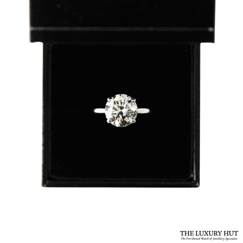 Shop 18ct White Gold Diamond Engagement Ring - Order Online Today Delivery