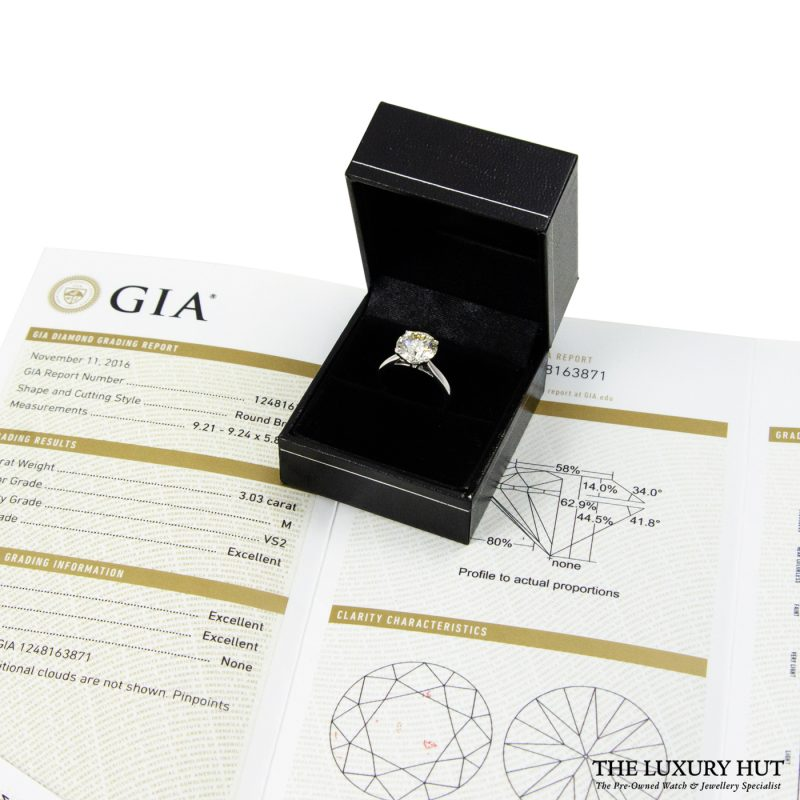 Shop 18ct White Gold Diamond Engagement Ring - Order Delivery