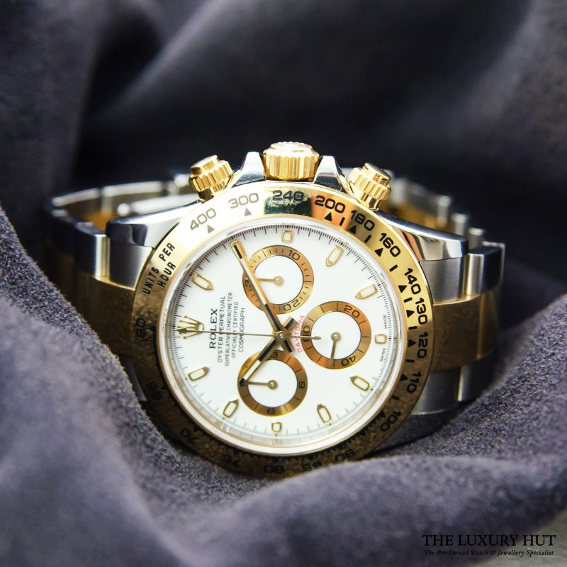 Shop Rolex Daytona 40mm Watch Ref: 116503