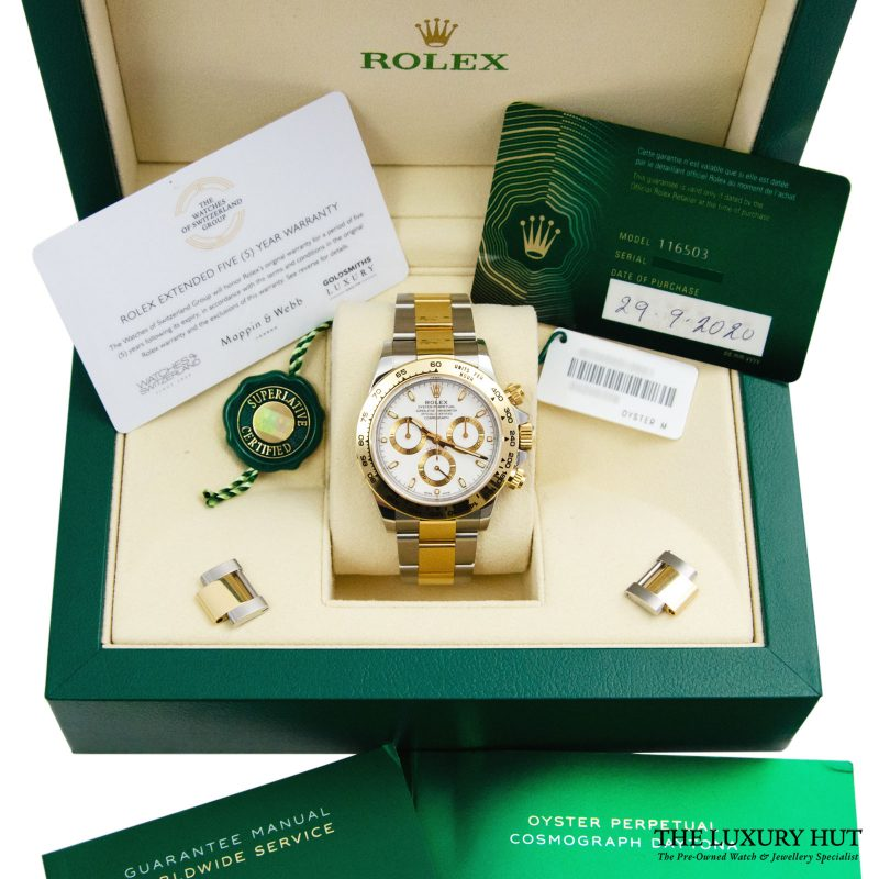 Shop Rolex Daytona 40mm Watch Ref: 116503 - 2020 Delivery.