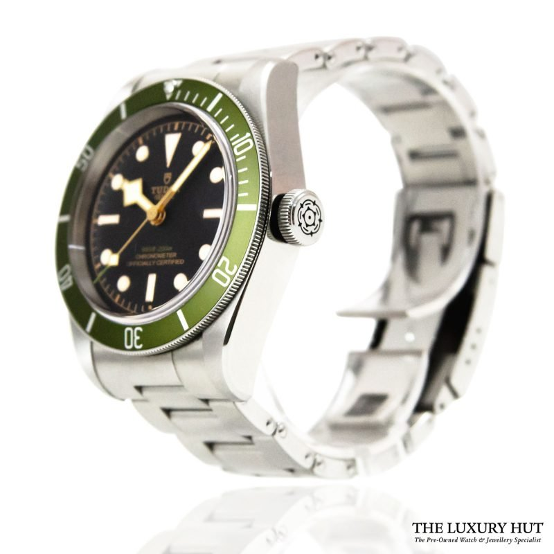 Shop Tudor Black Bay Green Harrods Watch Ref: 79230G - Order Online Today For Next Day