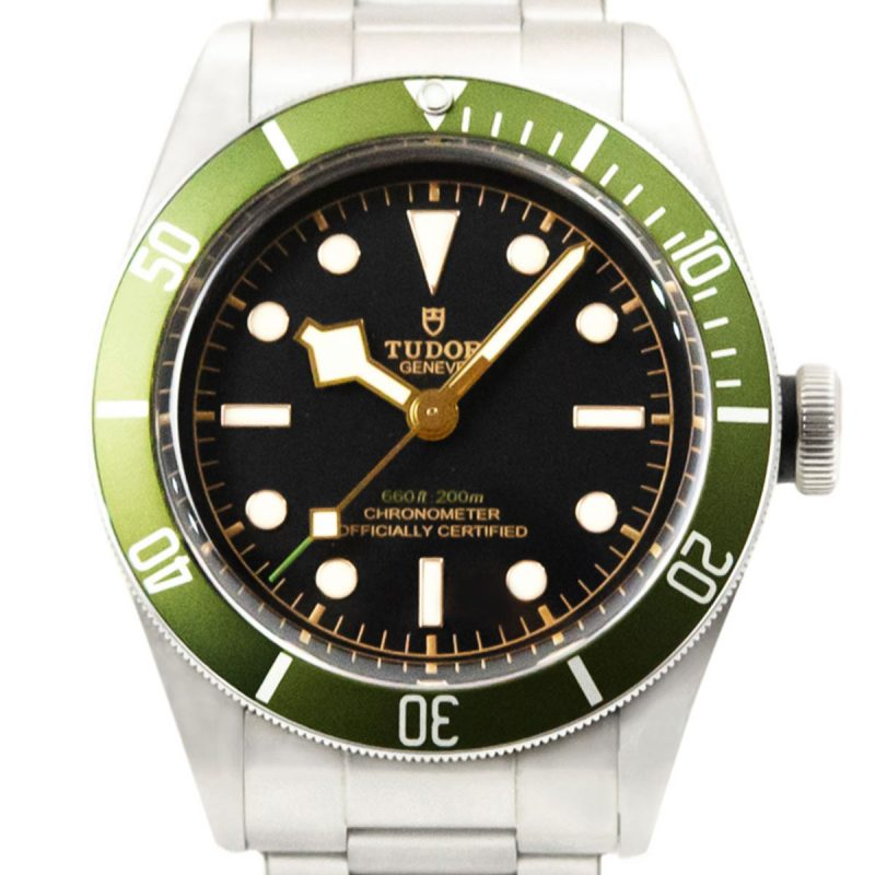 Shop Tudor Black Bay Green Harrods Watch Ref: 79230G - Order Online Today
