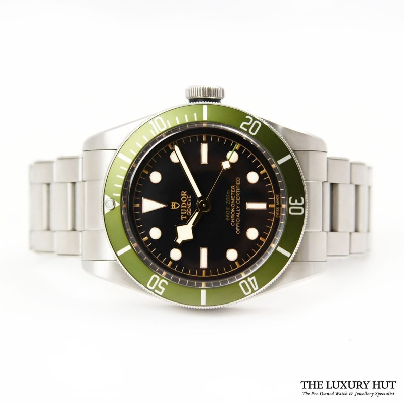 Shop Tudor Black Bay Green Harrods Watch Ref: 79230G - Order Online Today For Delivery.