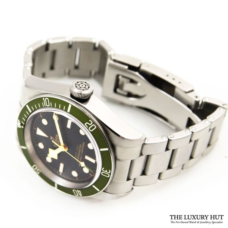Shop Tudor Black Bay Green Harrods Watch Ref: 79230G - Order Online