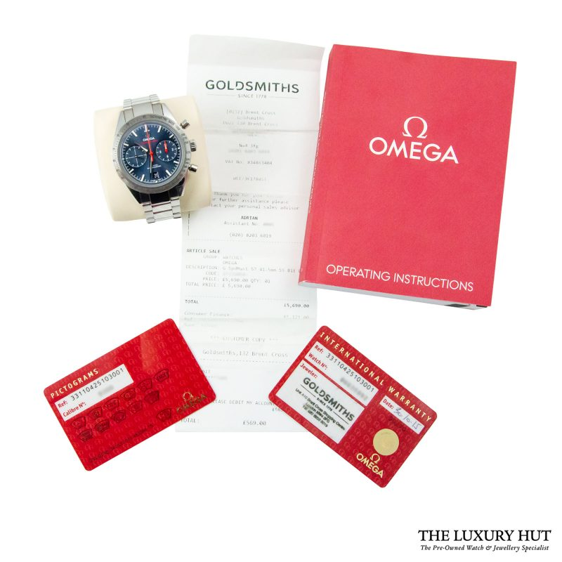 Shop Omega Speedmaster '57 Co-Axial 41.5mm Chronometer- Delivery.