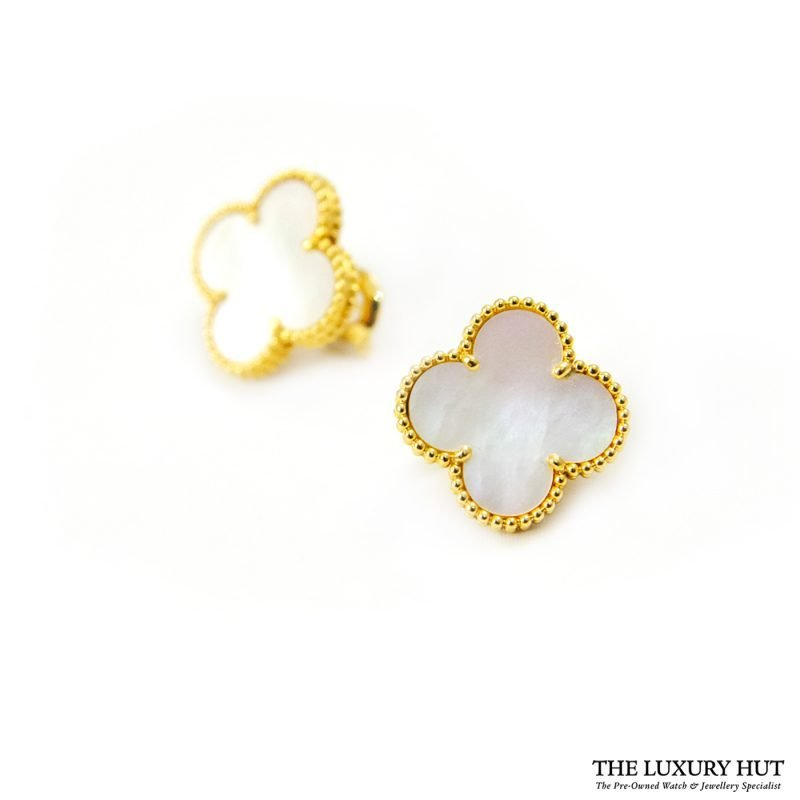 Shop 18ct Yellow Gold Van Cleef & Arpels Earrings - Order Online Today For Next Day