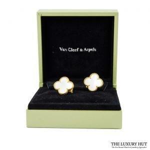 Shop 18ct Yellow Gold Van Cleef & Arpels Earrings - Order Online