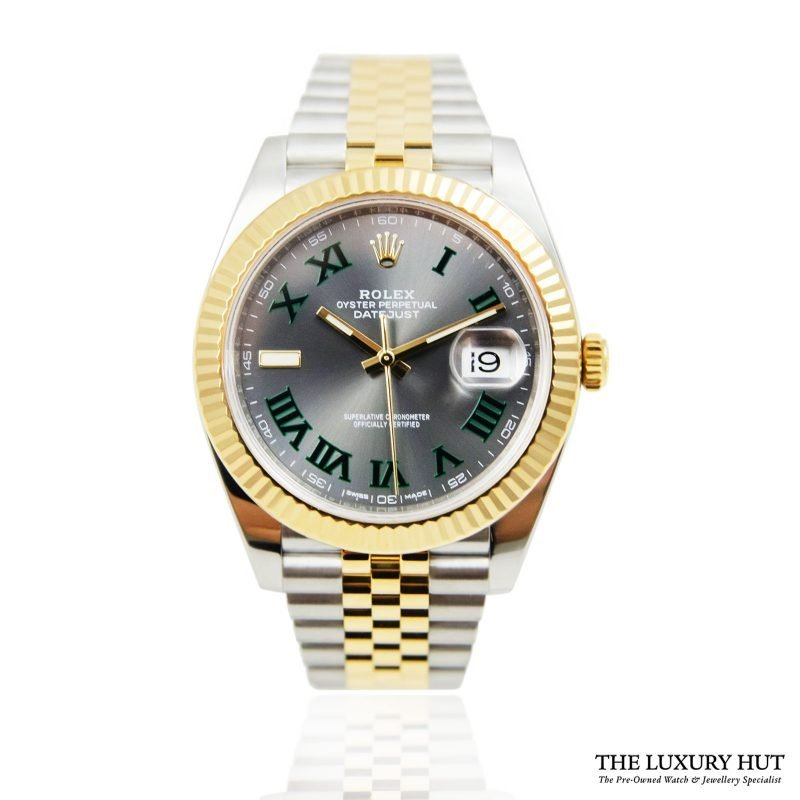 Shop Rare Rolex Datejust 41 Bi-Metal Watch Ref: 126333 - Order Online Today For Next Day Delivery.