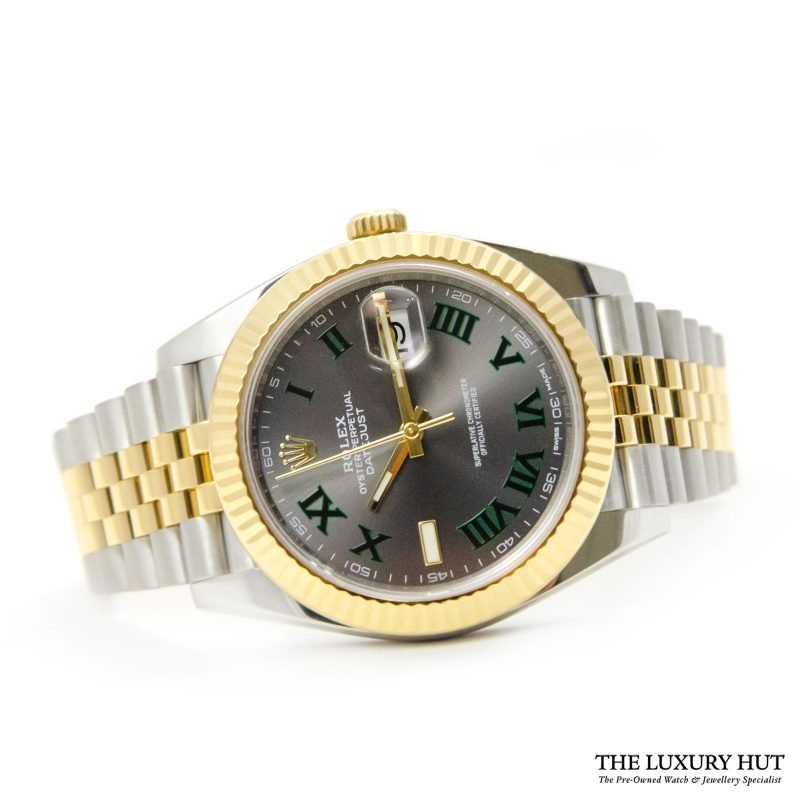 Shop Rare Rolex Datejust 41 Bi-Metal Watch Ref: 126333 - Order Online