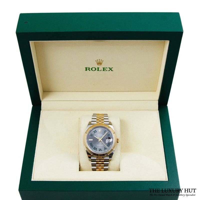 Shop Rare Rolex Datejust 41 Bi-Metal Watch Ref: 126333 - Order