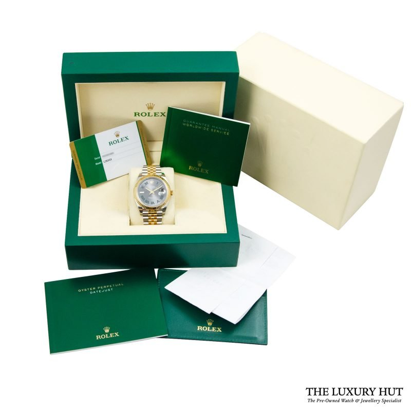 Shop Rare Rolex Datejust 41 Bi-Metal Watch Ref: 126333