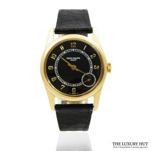 Shop Patek Philippe Calatrava Watch Ref: 5000J - Order Online Today For Next Day Delivery.