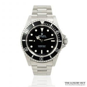 Shop Rolex Submariner No Date Watch Ref: 14060M - Order Online Today For Next Day Delivery.