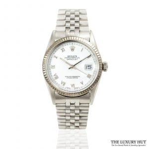 Shop Rolex Vintage Datejust 36mm Watch Ref: 16014 - Order Online Today For Next Day Delivery.