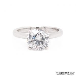 Shop Platinum 2.01ct Diamond Engagement Ring - Order Online Today For Next Day Delivery.