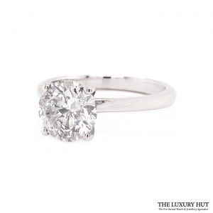 Shop Platinum 2.01ct Diamond Engagement Ring - Order Online Today For Next Day