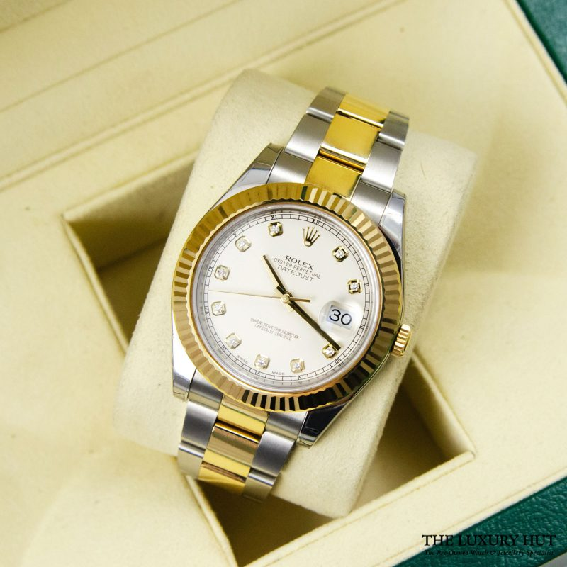 Shop Rolex Datejust II 41mm Watch Ref: 116333 - Order Online Today Delivery.
